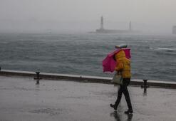 Turuncu alarm İstanbul sağanak ve fırtınaya teslim