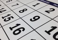 Çalışanlar merak ediyor İşte 2020 yılı resmi tatil günleri...