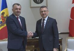 Cumhurbaşkanı Yardımcısı Oktay, Moldova Başbakanı Kiku ile görüştü