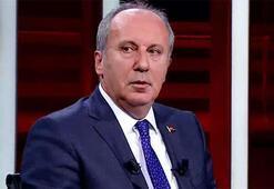 Muharrem İnceden CNN TÜRKte önemli açıklamalar