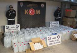 Ankara'da yılbaşı öncesi sahte içki operasyonu