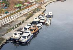 Deniz taksinin batan tekneleri