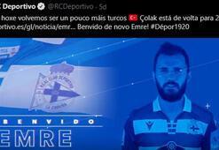 Son dakika | Emre Çolak yeniden Deportivoda