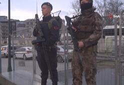 Taksim Meydanında drone savarlı güvenlik önlemi