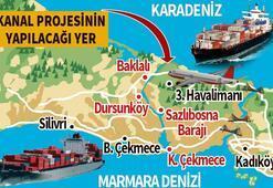 Kanal İstanbul çevre  planında değişiklik