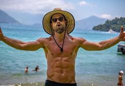 Diego Ribas tatilde bile formunu koruyor