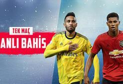Arsenal – Manchester United maçı canlı bahisle Misli.comda