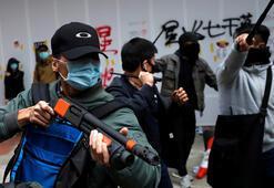 Hong Kongda yeni yıl protestolarla başladı