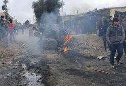 Terör örgütü bombalı araçla saldırdı