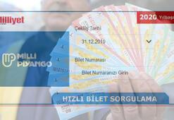 Milli Piyango (gov tr) 2020 tam yarım çeyrek bilet sorgulama motoru - MPİ 31 Aralık Yılbaşı çekiliş sonuçları check et