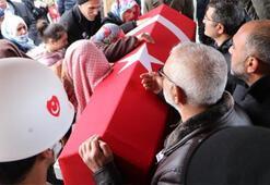 Şehit Uzman Çavuş, Erzurumda gözyaşlarıyla toprağa verildi