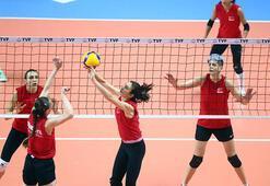 A Milli Kadın Voleybol Takımı, hazırlıklarının İstanbul etabını  tamamladı
