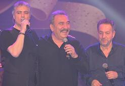 Cengiz Kurtoğlu, Ümit Besen ve Arif Susam aynı sahnede