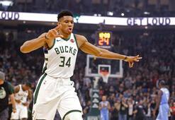 NBAde Bucks, Timberwolvesu yenerek üst üste 4. galibiyetini aldı