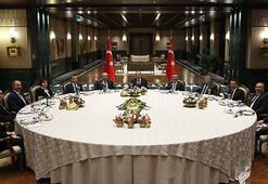 Cumhurbaşkanı Erdoğandan yasama, yürütme ve yargı temsilcilerine yemek