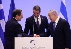Yunanistan, İsrail ve GKRY arasında imzalanan Eastmed özel prosedür içeriyor