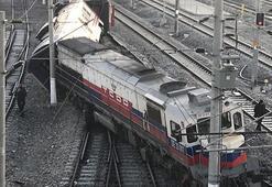 Son dakika... Ankarada tren vagonu raydan çıktı