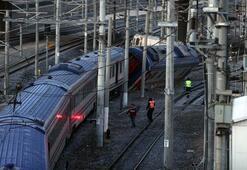 Ankarada tren vagonu raydan çıktı