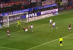Zlatan Ibrahimovicten Milan formasıyla spektaküler goller