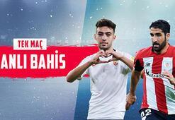 Sevilla- Athletic Bilbao maçı canlı bahis heyecanı Misli.comda