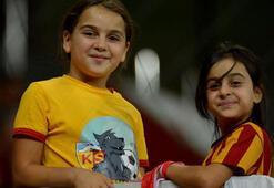Minik Sudenaz, Kayserisporun hiçbir maçını kaçırmıyor