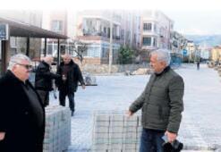 Edremit Belediyesi, yeni yılda hız kesmedi