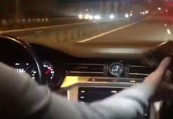 """İstanbul'da silahlı ve çakarlı """"Makas"""" terörü kamerada"""