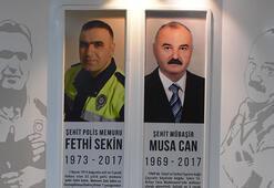 Şehit Fethi Sekin 3. ölüm yıl dönümünde unutulmadı