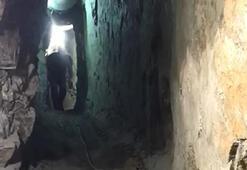 35 metre derinlikte suçüstü basıldılar