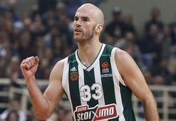 THY Euroleaguede 17. haftanın MVPsi Panathinaikoslu Calathes