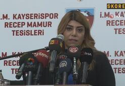 Berna Gözbaşı: Bu takımı ligden düşürmeyeceğime söz veriyorum