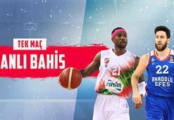 Pınar Karşıyaka-Anadolu Efes maçı Misli.comda