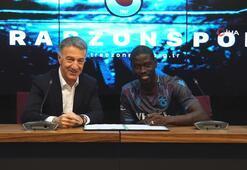 Trabzonspor, Senegalli oyuncu Ndiaye ile sözleşme imzaladı