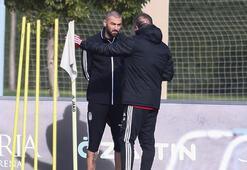 Beşiktaşta ikinci yarı hazırlıkları sürüyor