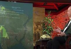 Cumhurbaşkanı Erdoğan Kanal İstanbulun son görüntülerini gösterdi