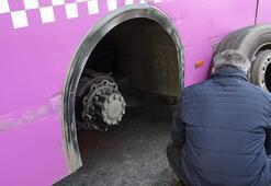 İstanbul'un göbeğinde akılalmaz kaza