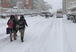 Bugün okullar tatil mi Hangi illerde okullar tatil