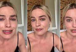 Margot Robbie böyle yalvardı... Gözyaşlarına boğuldu