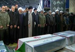 Kasım Süleymanini için Tahranda cenaze töreni düzenlendi