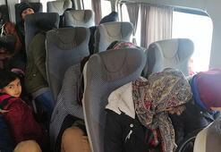 Çanakkalede 108 göçmen yakalandı