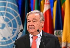 Son dakika | Guterres: Tehlikeli zamanlarda yaşıyoruz