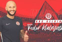 Antalyaspor Kudryashovu resmen açıkladı