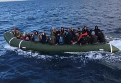 İzmirde 199 düzensiz göçmen yakalandı