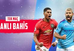 Manchester United – Manchester City canlı bahis heyecanı Misli.comda