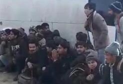 Göçmenler bu sefer botta değil binada yakalandı
