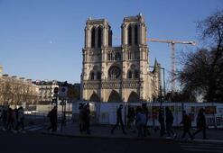 Notre Dameda restorasyon sürüyor
