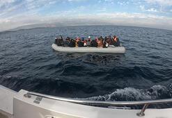 Çeşme açıklarında 199 kaçak göçmen yakalandı