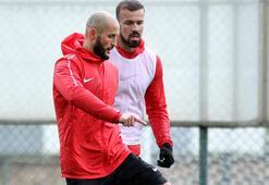 Antalyasporda Kudryashov ilk antrenmanına çıktı