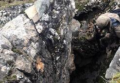 Bitlis'te PKKnın toprağa gömülü malzemeleri ele geçirildi