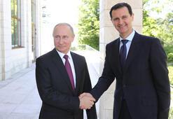 Son dakika... Rusya lideri Putin, Suriyede Esad ile görüştü